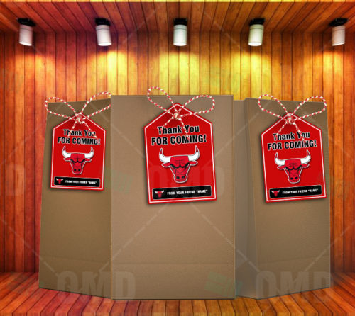 Chicago Bulls - Bag Tags - Product 2