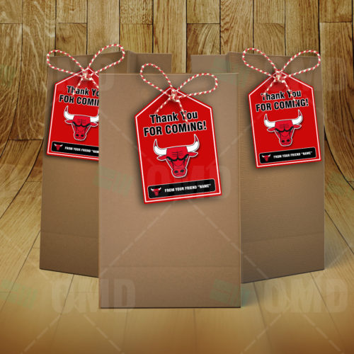 Chicago Bulls - Bag Tags - Product 3