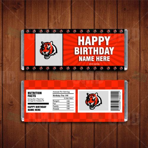 Cincinnati Bengals - Candy Bar 1 - Product 1