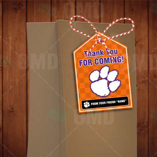 Clemson Tigers - Bag Tags - Product 1