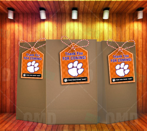 Clemson Tigers - Bag Tags - Product 2