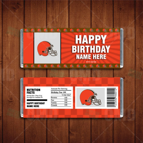Cleveland Browns - Candy Bar 1 - Product 1