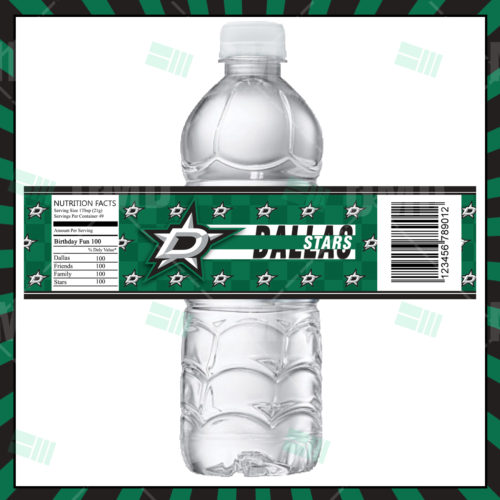 Dallas Stars - Bottle Label - Product 1