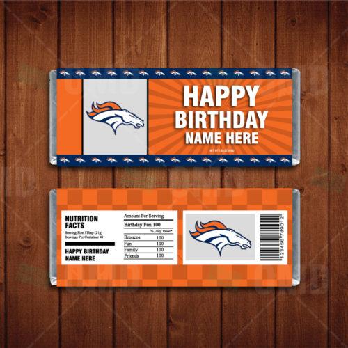 Denver Broncos - Candy Bar 1 - Product 1