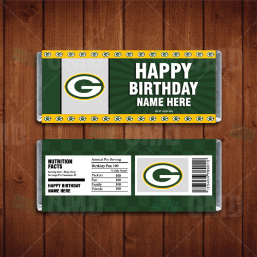 Green Bay Packers - Candy Bar 1 - Product 1