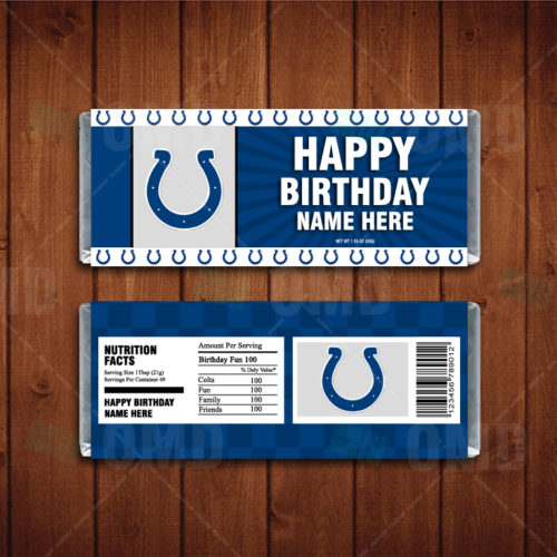 Indianapolis Colts - Candy Bar 1 - Product 1