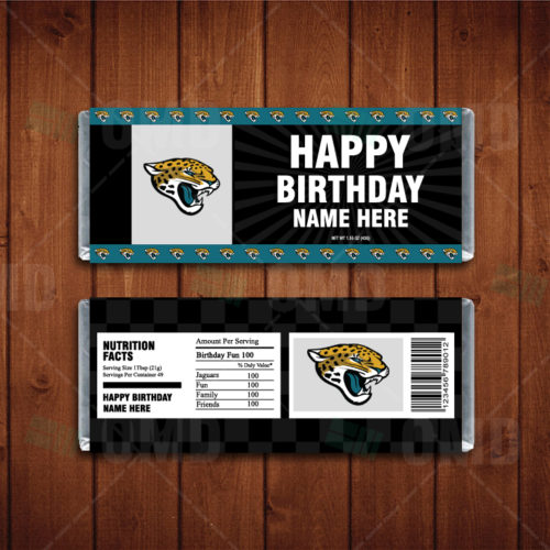 Jacksonville Jaguars - Candy Bar 1 - Product 1