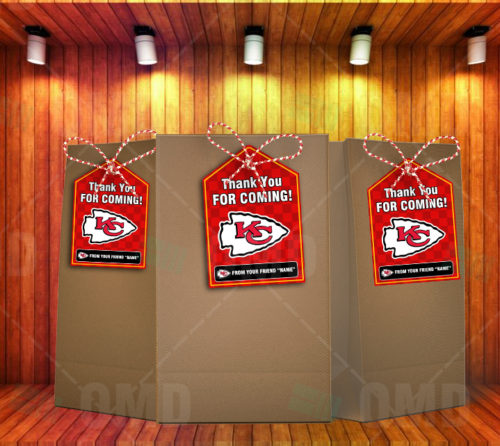 Kansas City Chiefs - Bag Tags - Product 1