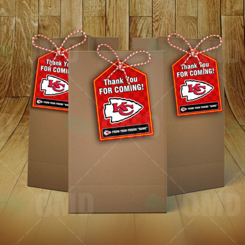Kansas City Chiefs - Bag Tags - Product 2