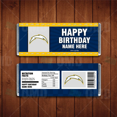 Los Angeles Chargers - Candy Bar 1 - Product 1