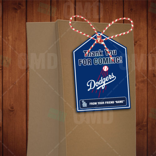 Los Angeles Dodgers - Bag Tags - Product 1