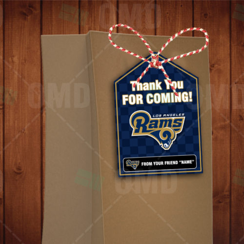 Los Angeles Rams - Bag Tags - Product 1