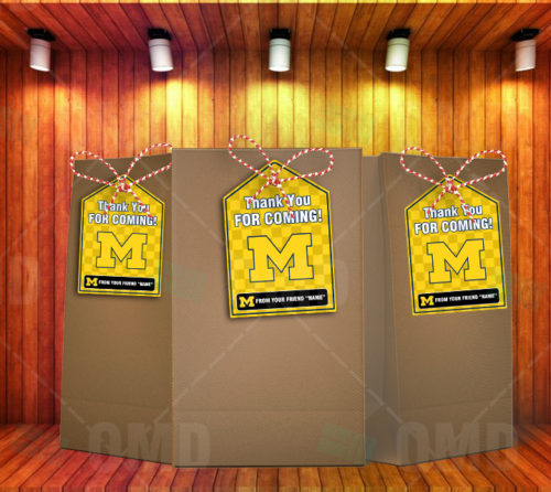 Michigan Wolverines - Bag Tags - Product 1