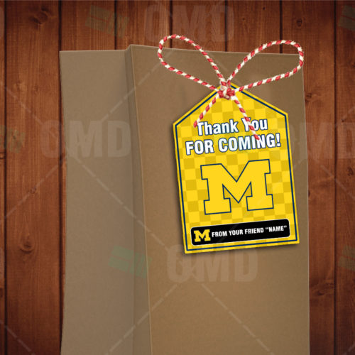 Michigan Wolverines - Bag Tags - Product 4
