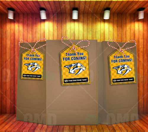Nashville Predators - Bag Tags - Product 2