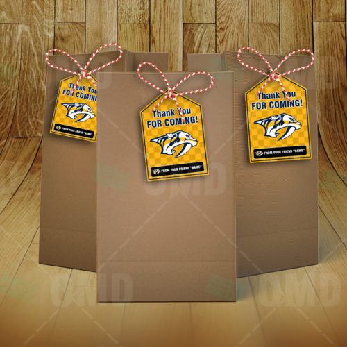 Nashville Predators - Bag Tags - Product 3