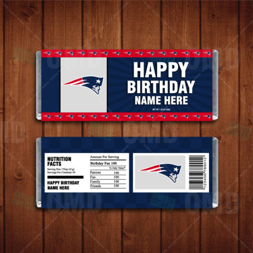 New England Patriots - Candy Bar 1 - Product 1
