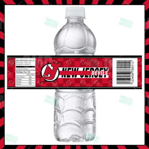 New Jersey Devils - Bottle Label - Product 1