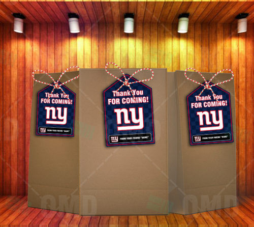 New York Giants - Bag Tags - Product 2