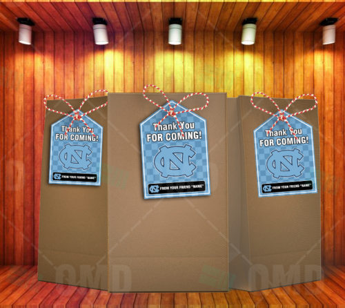 North Carolina Tarheels - Bag Tags - Product 1