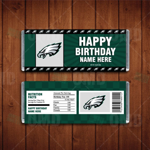 Philadelphia Eagles - Candy Bar 1 - Product 1