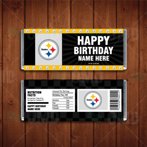 Pittsburgh Steelers - Candy Bar 1 - Product 1