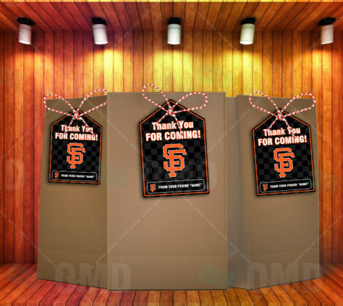 San Francisco Giants - Bag Tags - Product 2