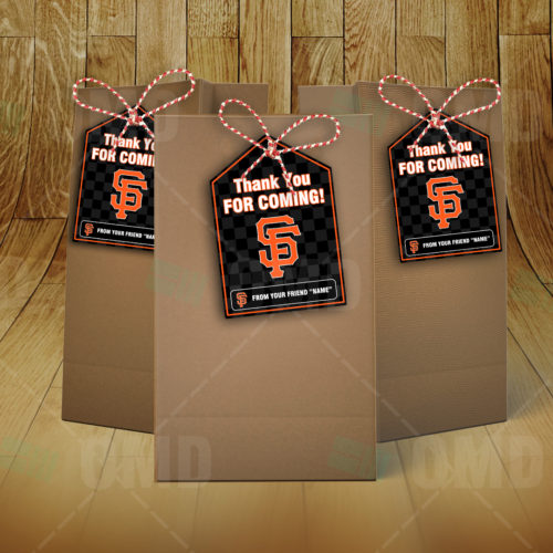 San Francisco Giants - Bag Tags - Product 3