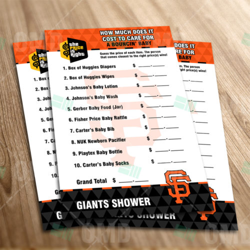 San Francisco Giants - Price Is Right - Game - Product 1-1