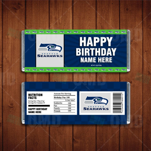 Seattle Seahawks - Candy Bar 1 - Product 1