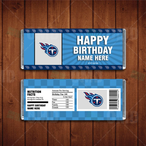 Tennessee Titans - Candy Bar 1 - Product 1