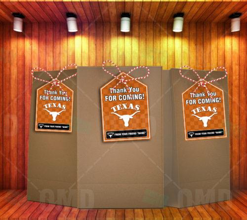 Texas Longhorns - Bag Tags - Product 1
