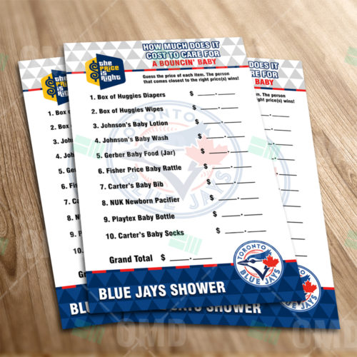 Toronto Blue Jays - Price Is Right - Game - Product 1-1
