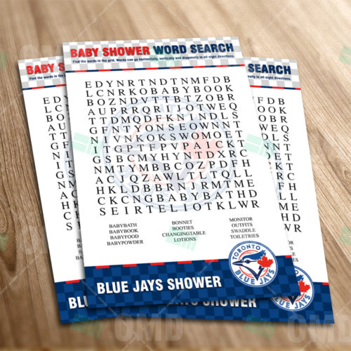 Toronto Blue Jays - Word Search - Game - Product 1-1
