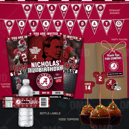 Alabama Crimsontide - Party Package - Product 1