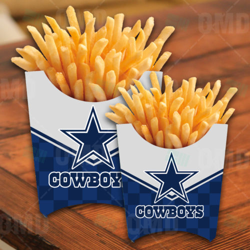 Dallas - Cowboys - French Fry Box - Product 1