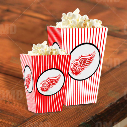 Detroit Red Wings - Popcorn Box - Product 1