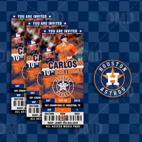 Houston Astros - Invite 3 - Product 1