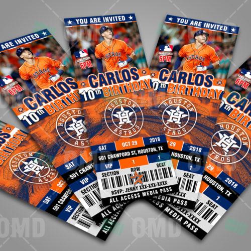 Houston Astros - Invite 3 - Product 3