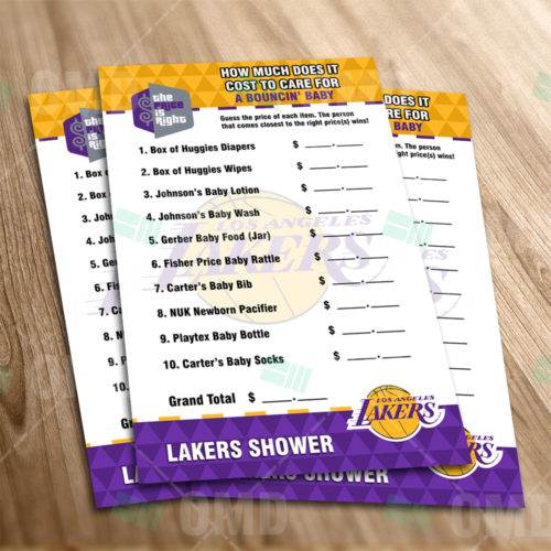 LA Lakers - Price Is Right - Game - Product 1-1
