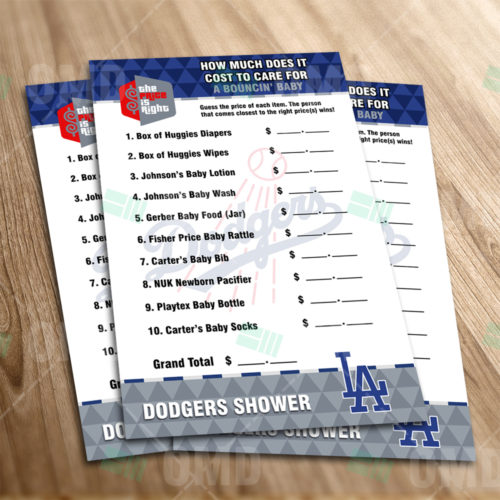 Los Angeles Dodgers - Price Is Right - Game - Product 1-1