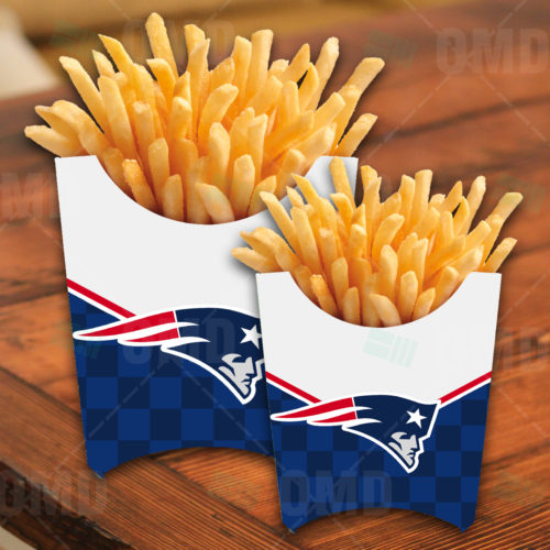 New England Patriots - French Fry Box - Product 1