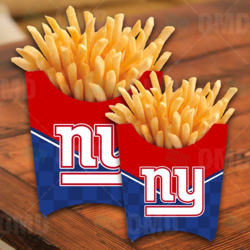 New York Giants - French Fry Box - Product 1