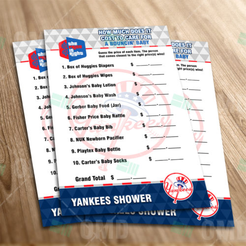 New York Yankees - Price Is Right - Game - Product 1-1