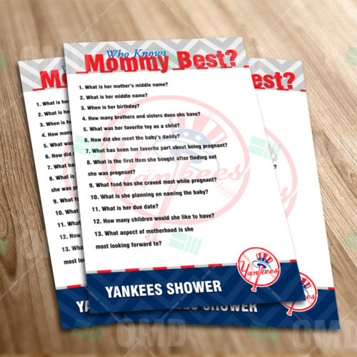 New York Yankees - Who Knows Mommy - Game - Product 1-1