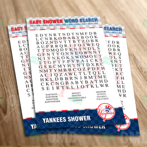 New York Yankees - Word Search - Game - Product 1-1