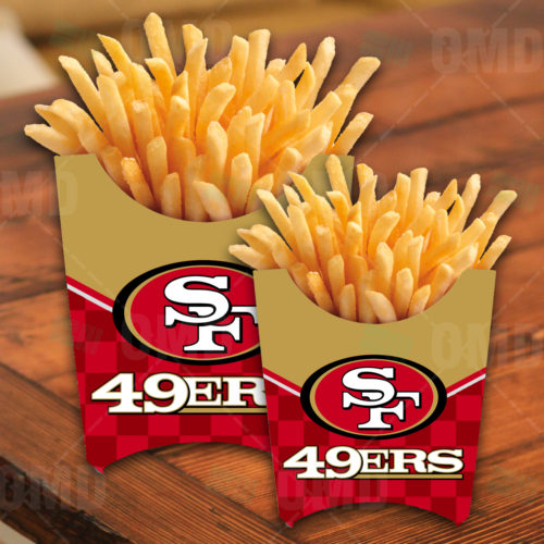 San Francisco 49ers - French Fry Box - Product 1