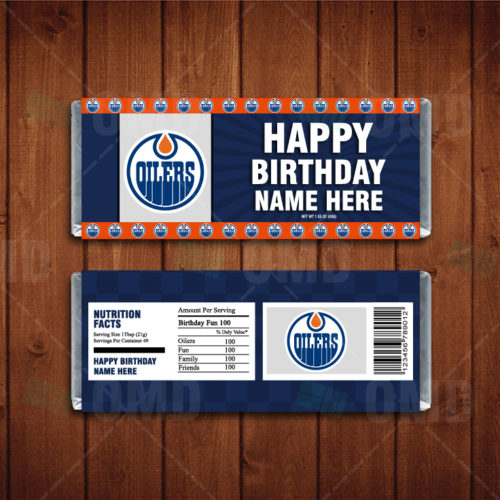 Edmonton Oilers - Candy Bar 1 - Product 1