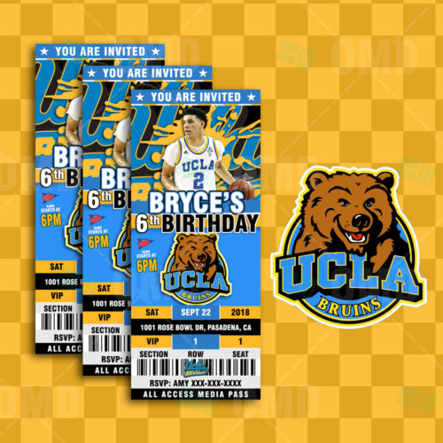 UCLA Bruins - Invite 2 - Product 1