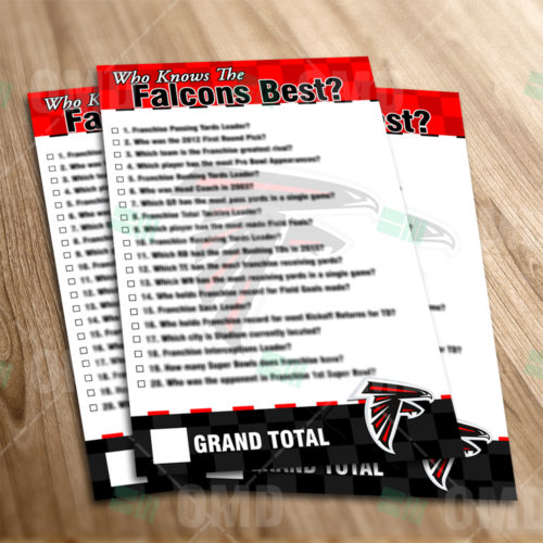 Atlanta Falcons - Trivia Game - Product 1